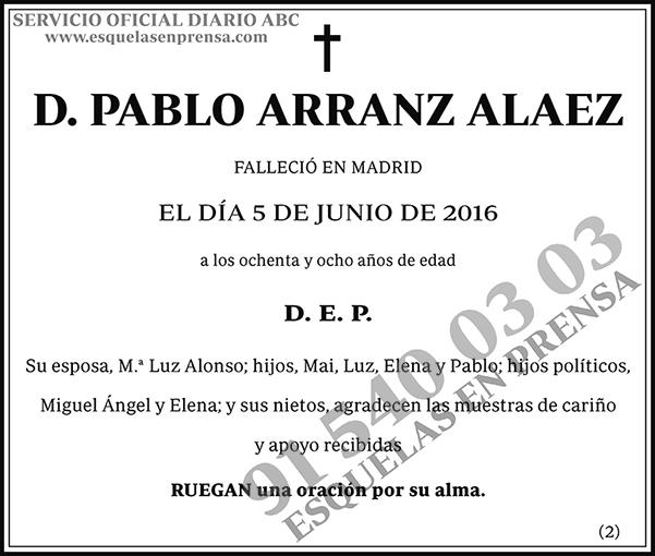Pablo Arranz Alaez